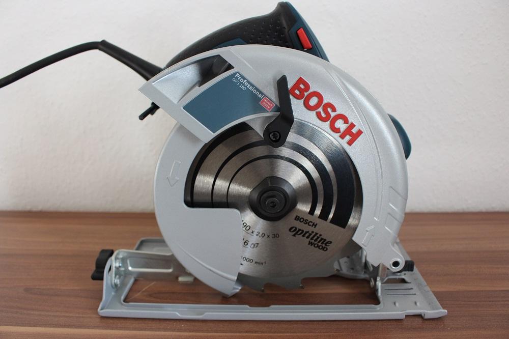 Bosch GKS mit Schnitttiefenverstellung