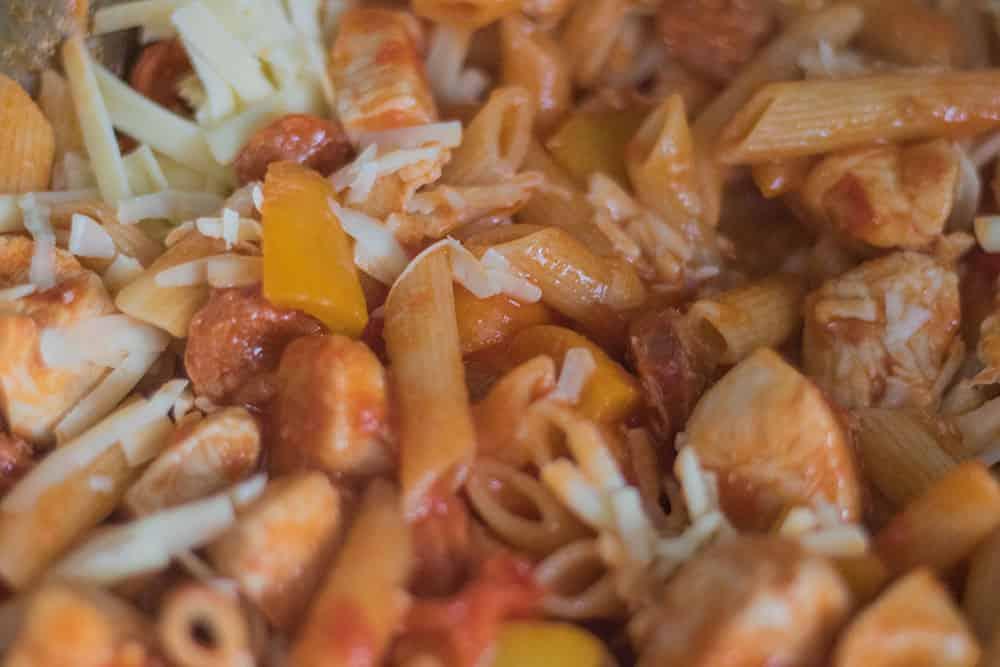 Chorizo with Chicken and Pasta | AmateurChef.co.uk