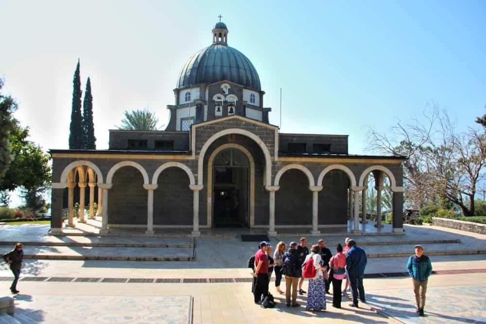 Mount of Beatitudes church