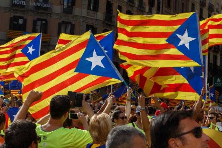 Флаги каталонского мятежа