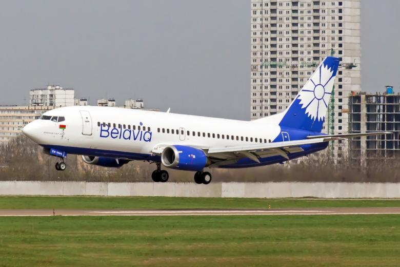 воздушные санкции против Минска, самолёт «Белавиа»