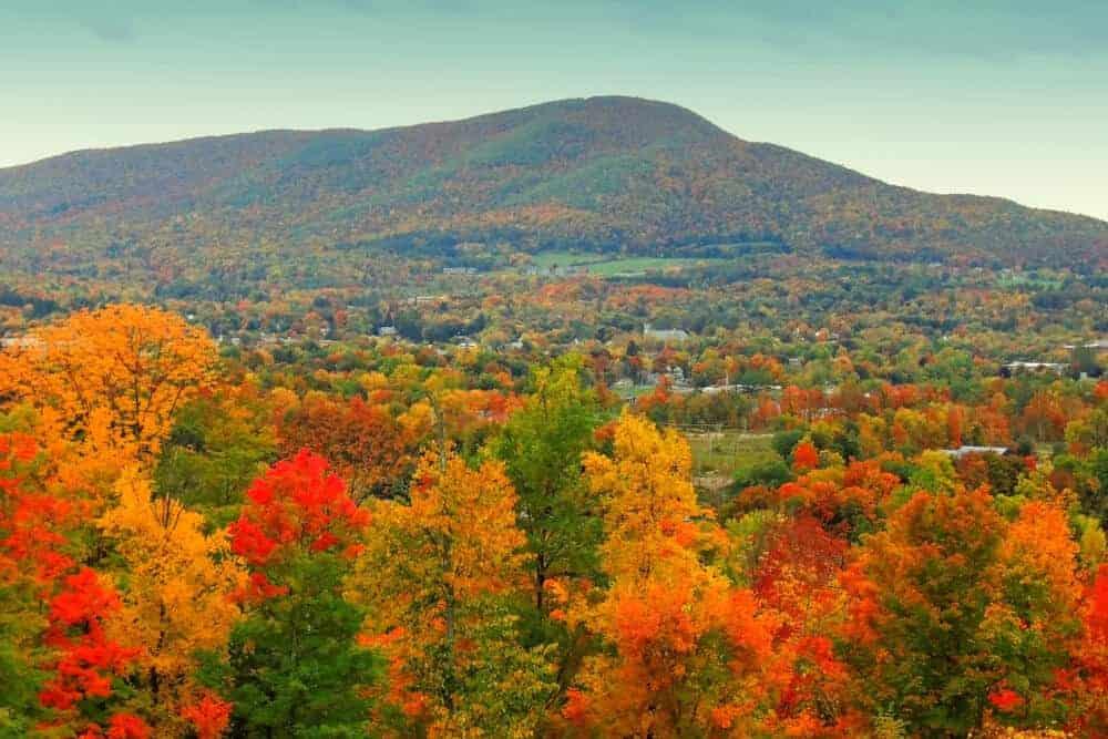 Mt. Anthony in Bennington, Vermont