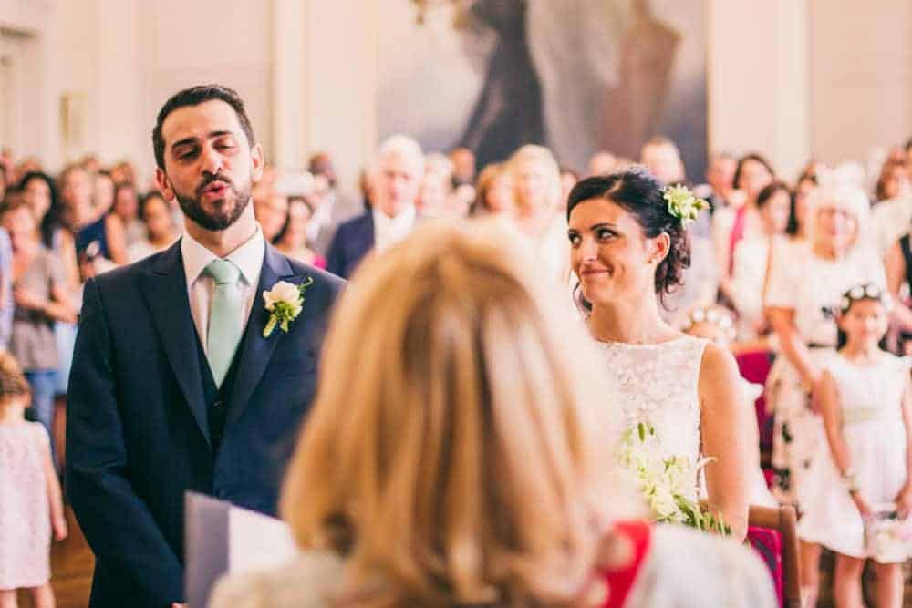 Photos mariage civil à la mairie de Coulommiers