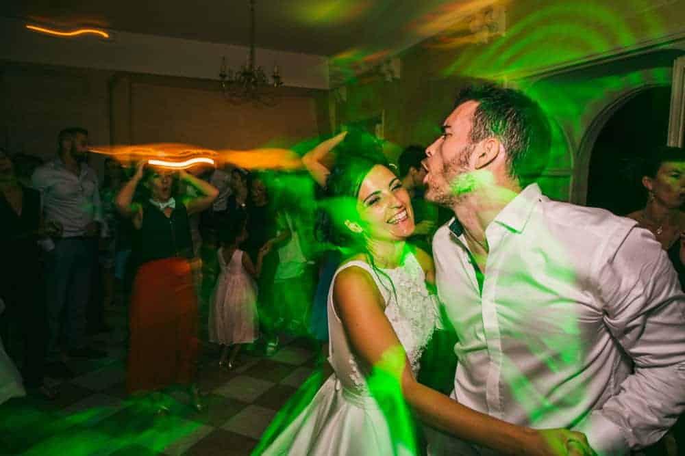 Photos de soirée mariage au château du Monceau à Liverdy-en-Brie