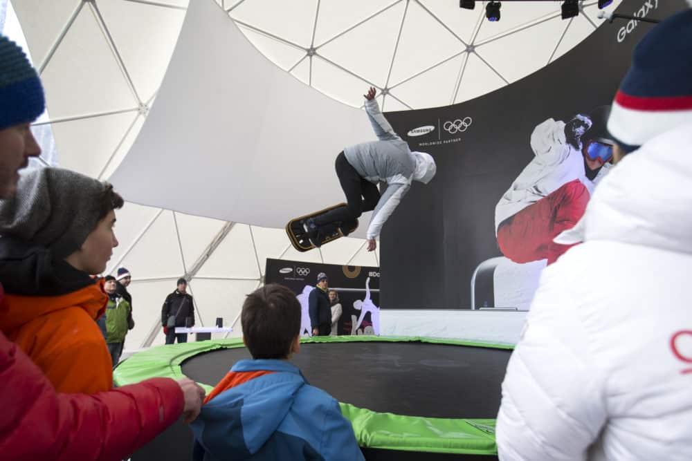 Samsung v brněnském olympijském parku otevírá svou arénu: ZOH 2018
