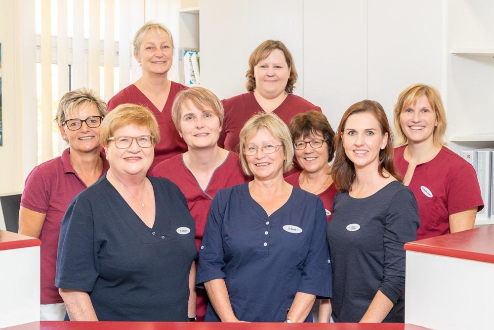 das Praxisteam der HNO-Praxis Phoniatrie Dresden