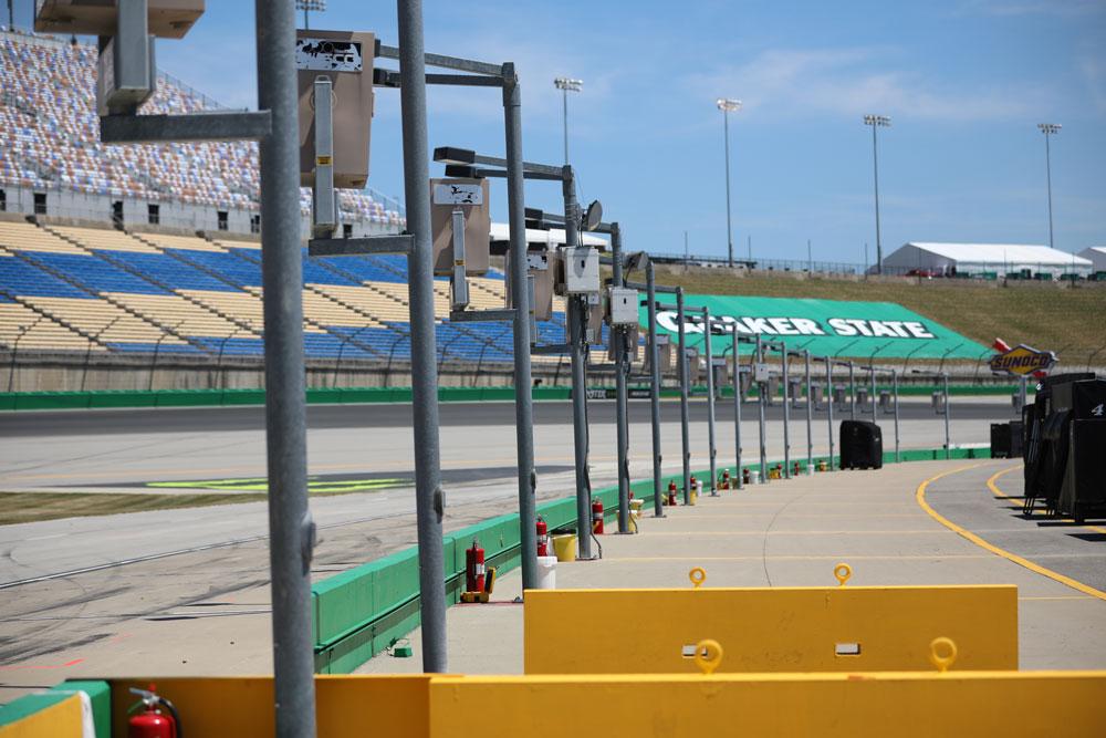 Kentucky Speedway track