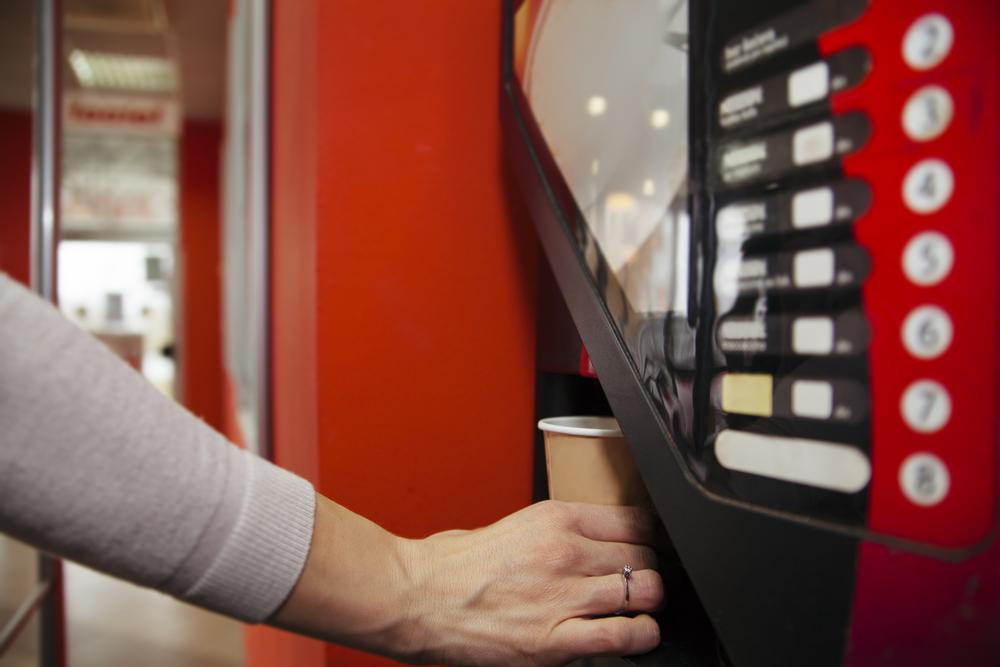 Kaffeevollautomat mit Bezahlfunktion