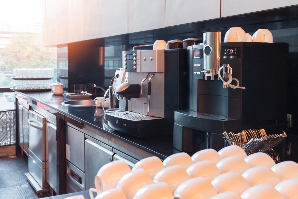 Kaffeevollautomaten im Büro