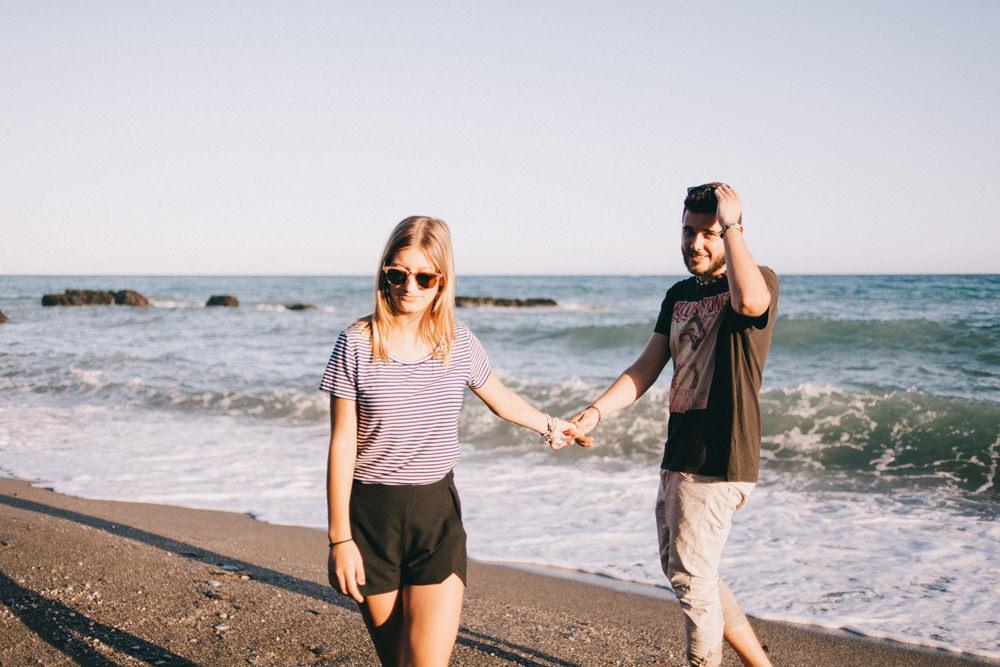 Sesión de fotos de pareja en Adra, Almería