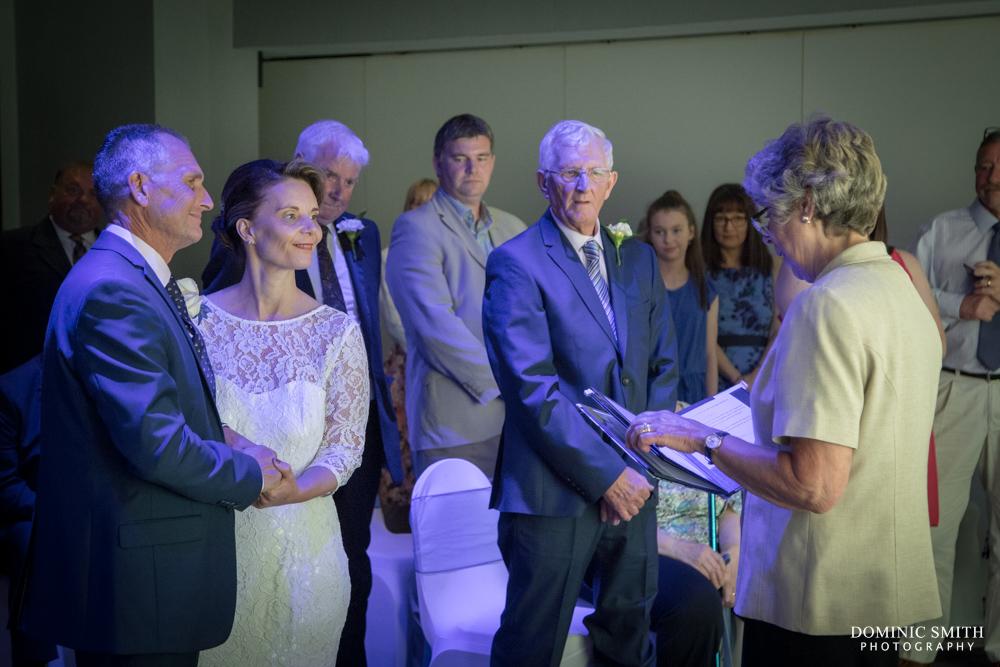 Wedding ceremony at Sandman Signature Hotel Gatwick 2