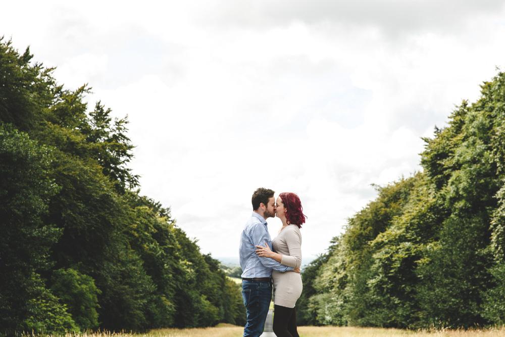 Hoghton Tower Engagement Photoshoot