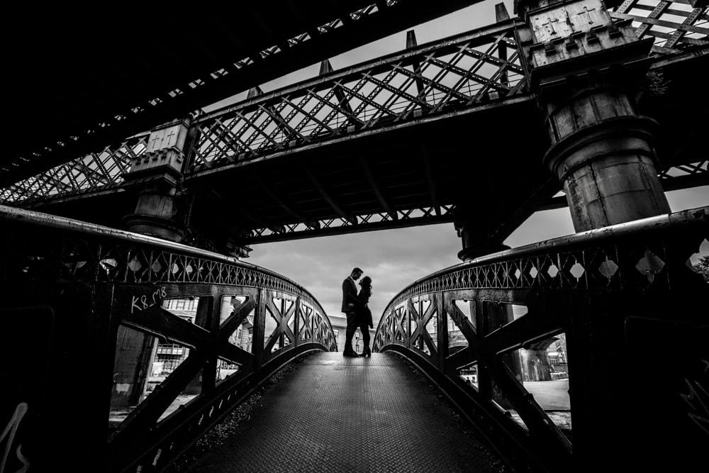 castlefield bridge in manchester