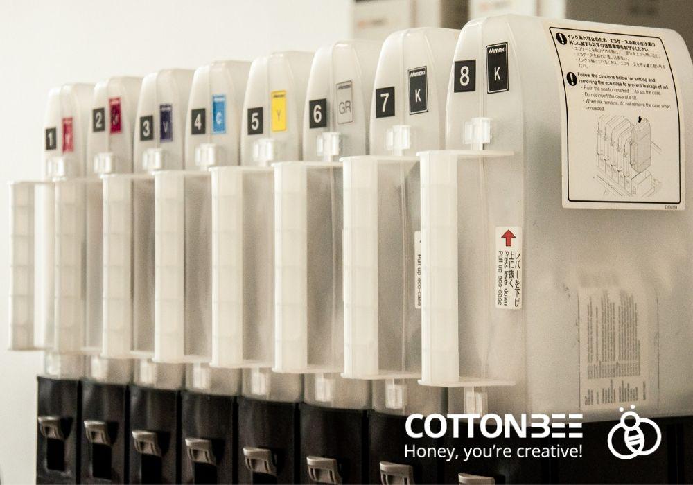 atramenty pigmentowane do druku na materialach