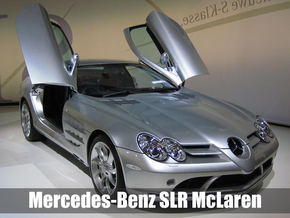 Mercedes-Benz SLR McLaren (sumber gambar: Wikipedia, diolah)