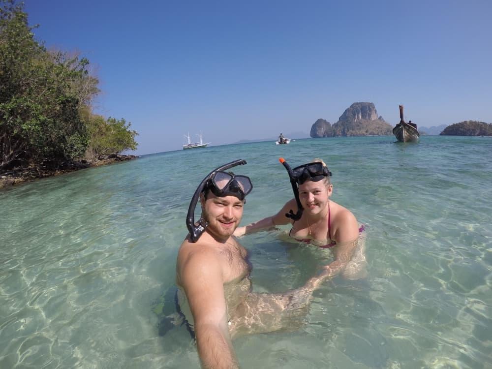 Snorkelling spa boat