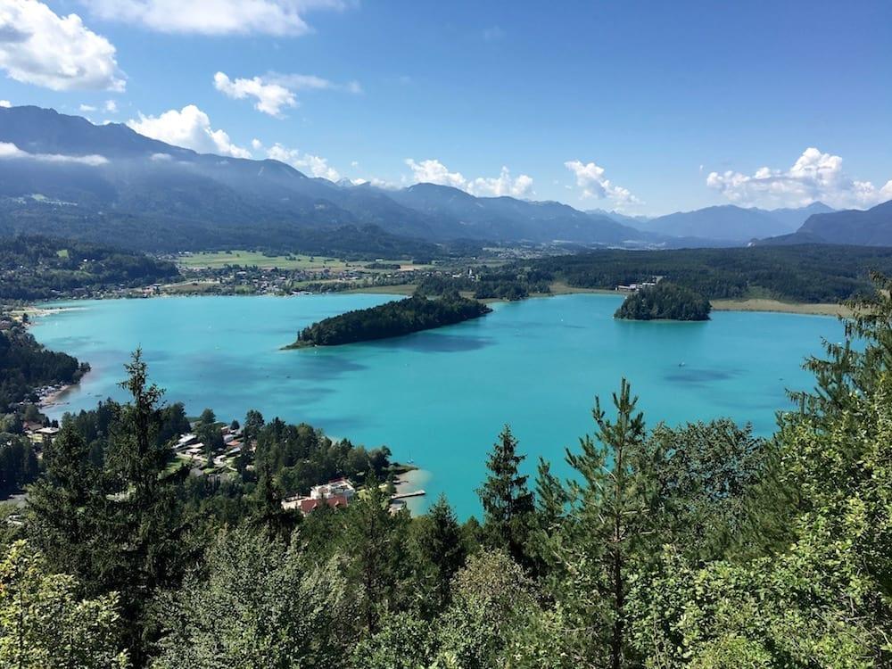 Faaker See in Kärnten mit Kind