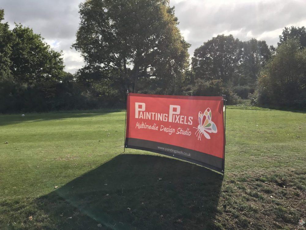 Painting Pixels - Charity Golf Day - MultiMedia Design Studio - Ipswich Suffolk 01
