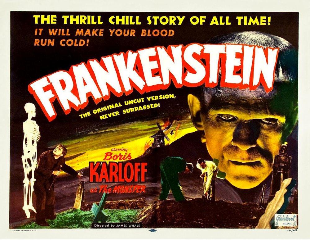 Frankenstein (1931), 1930s horror movies