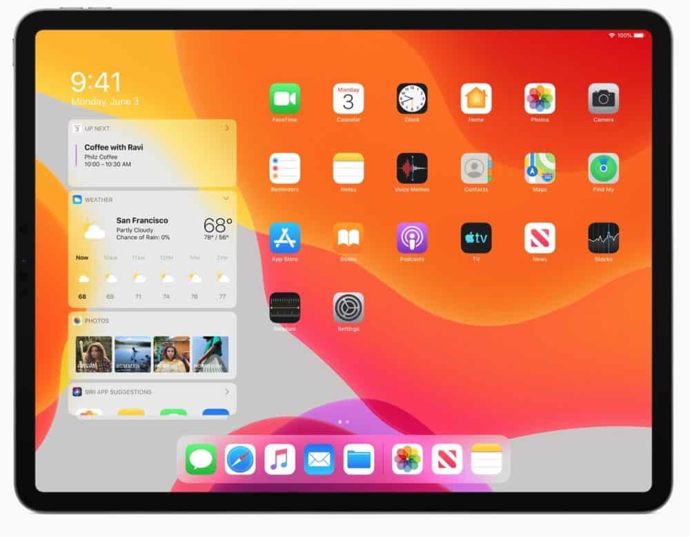 Představujeme operační systém iPadOS. Je určený pro nové iPady
