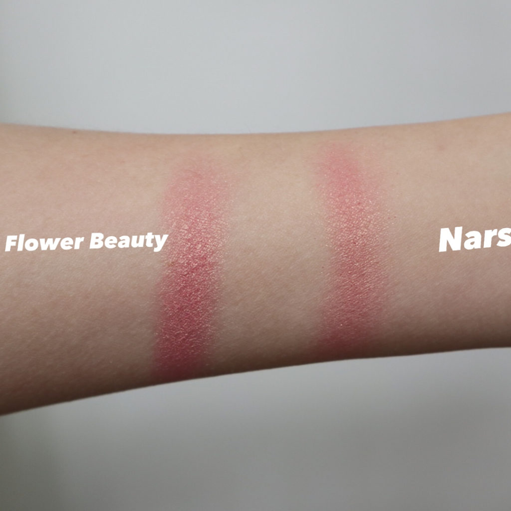flower beauty warm hibiscus nars orgasm dupe