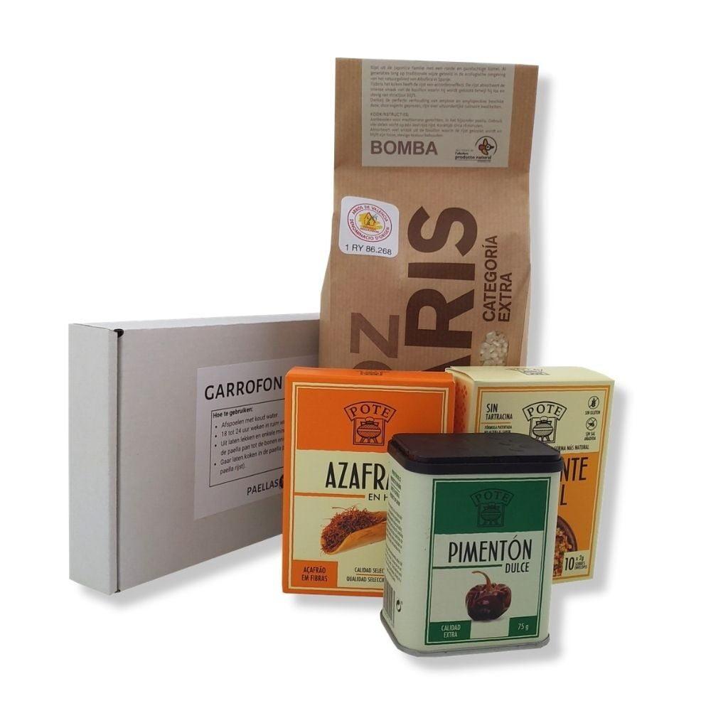 Paella Valenciana Ingredienten Pakket