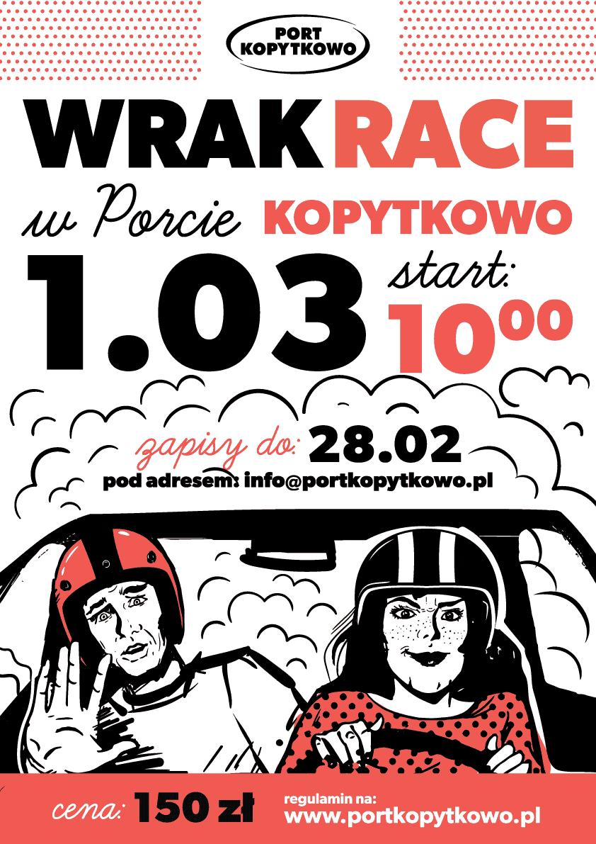 Wrak Race wPorcie Kopytkowo