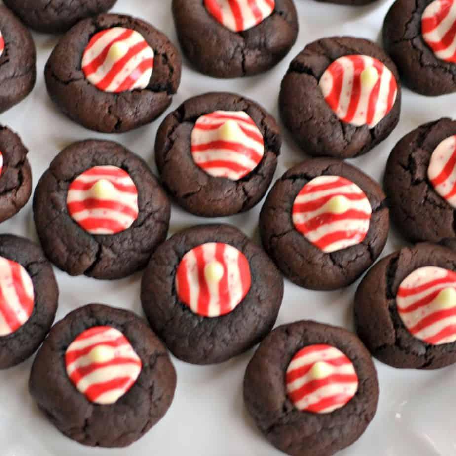 Thumbprint Cookies Chocolate Kisses
