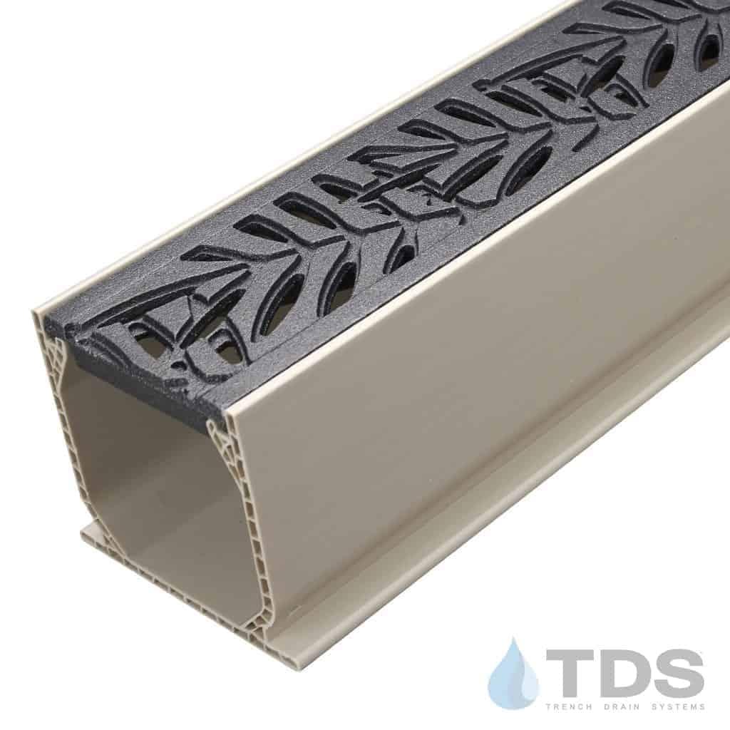 MCKS-IA-Loc-TDSdrains deco locust iron age grate mini sand channel