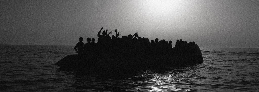 Auf der Flucht im Mittelmeer