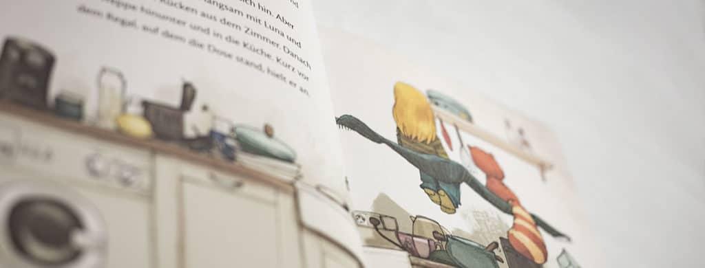 Kinderbuchvorstellung Luna und der Katzenbär - Udo Weigelt
