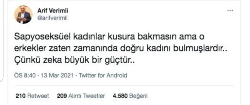 ARIF Verimli'den Avşar Kızına kapak Gibi Cevap