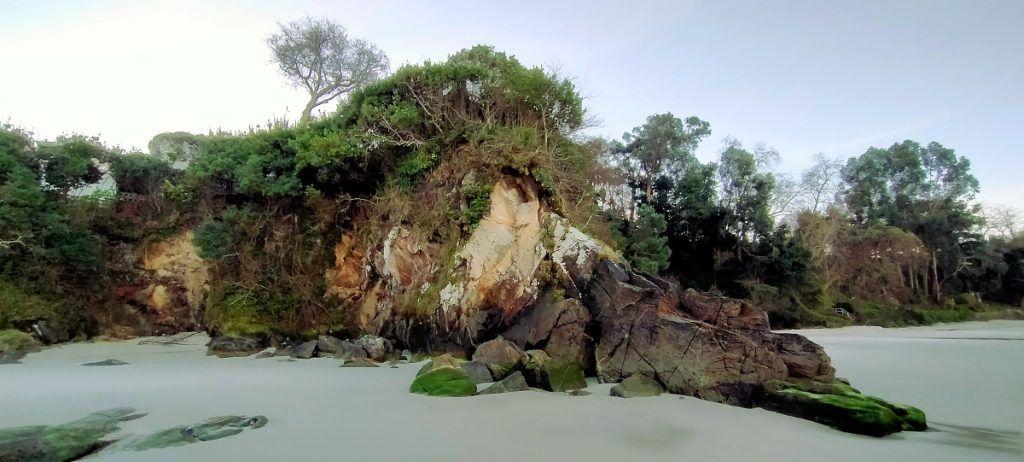 Barrena natural entre Lapamán y Muíño Vello