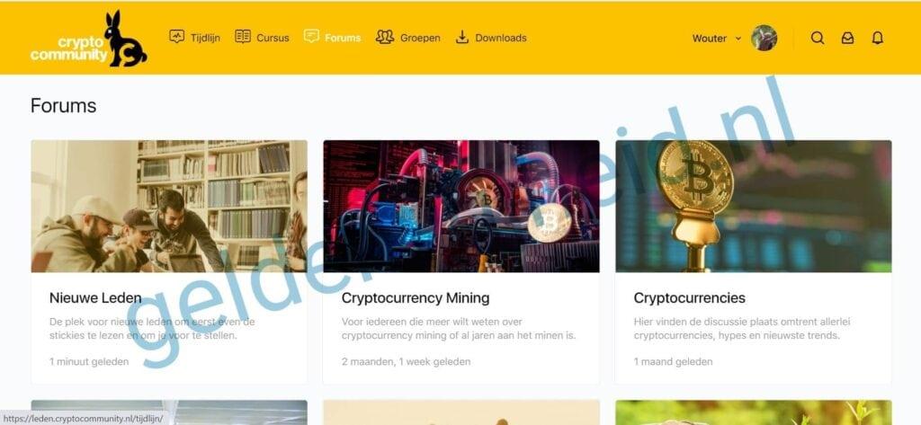 cryptocommunity.nl review - screenshot forum