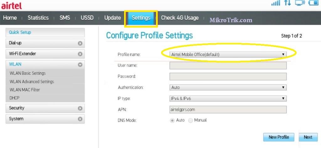 airtel 4g mobile hotspot/companion router (black)