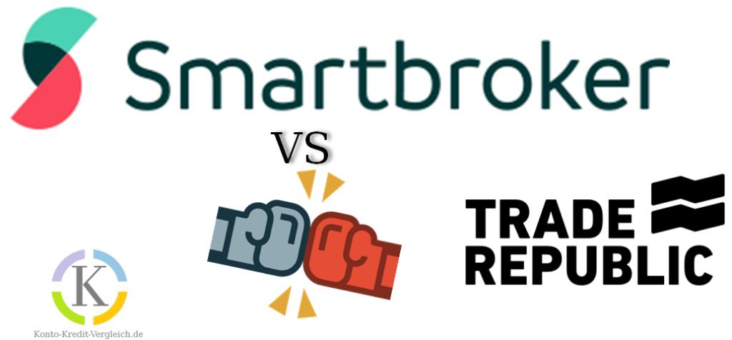 Trade Republic vs Smartbroker: Kampf der Billigbroker im Wertpapierdepot Vergleich!