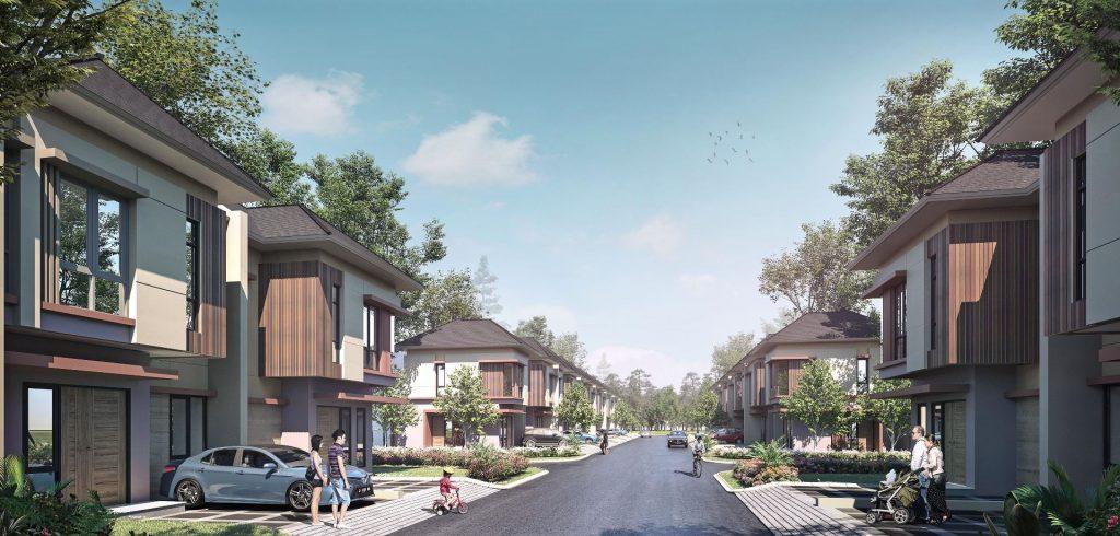 Rumah 2 Lantai 875JT CitraRaya Tangerang Ecopolis