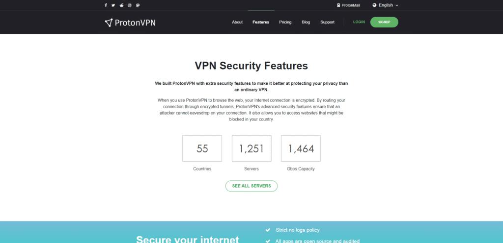 VPN Security Features