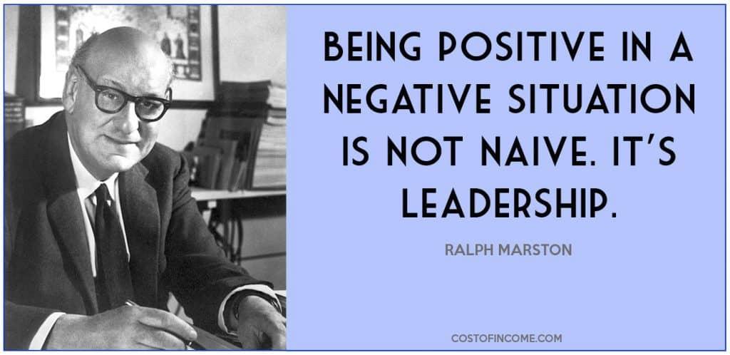leadership qualities positivity