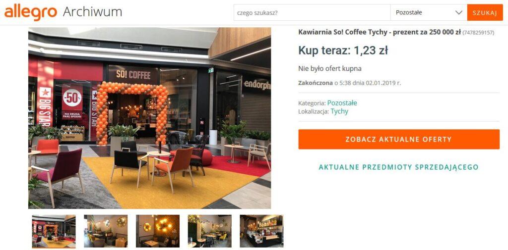 Kawiarnia franczyzowa So! Coffee