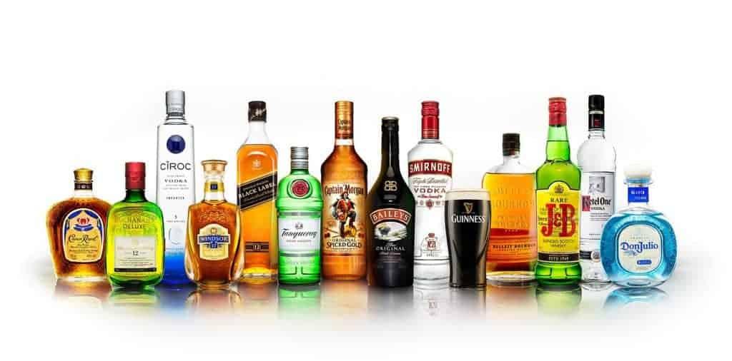 Diageo's brands
