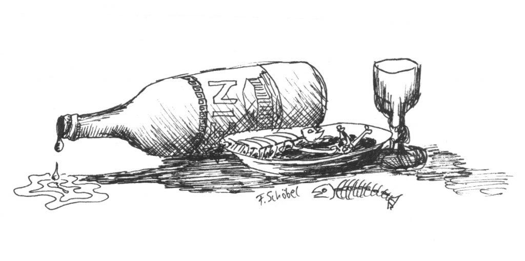 Illustration Speis und Trank und danach?