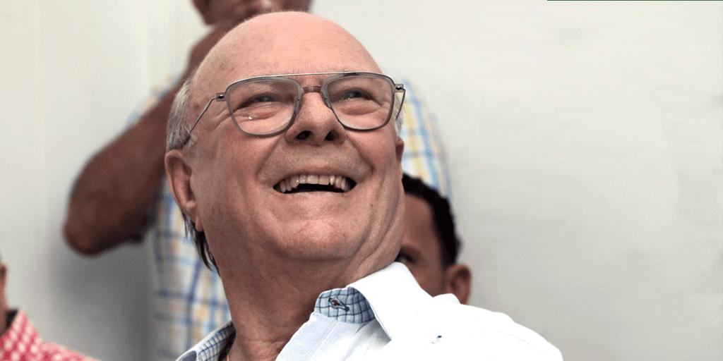 Hipolito Mejia, expresidente de la República.