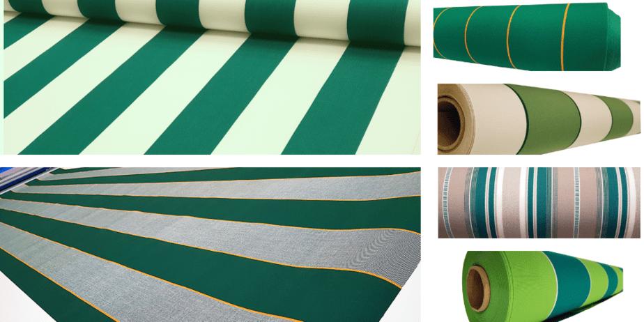 telas verdes para toldos
