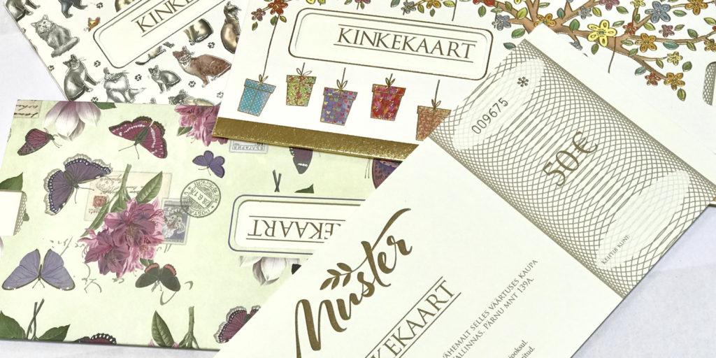 kinkekaart 1024x512 - Подарочные карты в э-магазине!