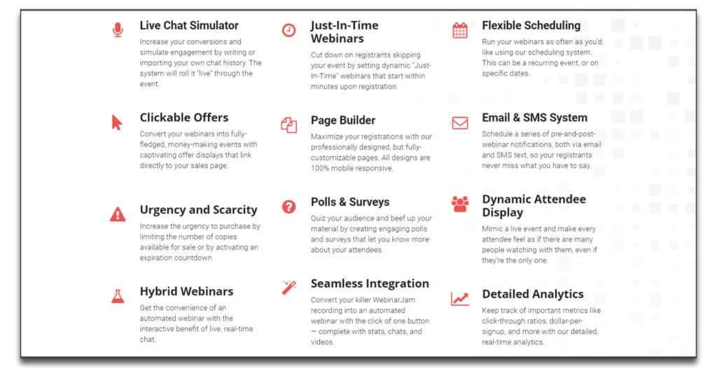 everwebinar features detail