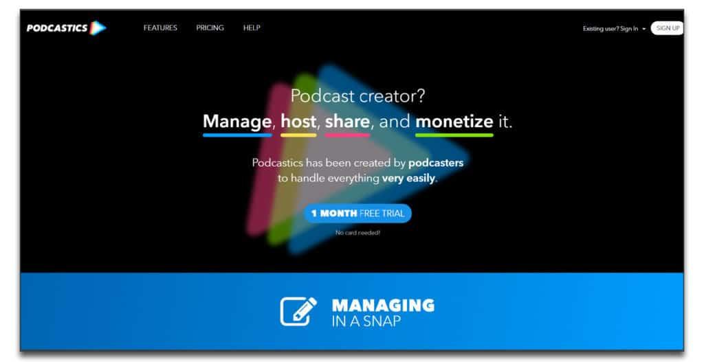 podcastics platform review
