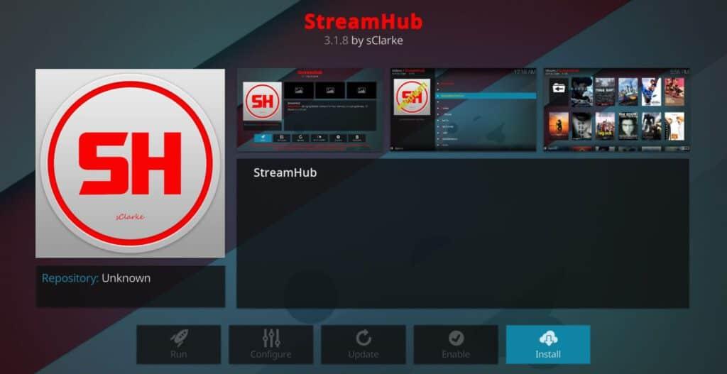 Stream Hub Kodi Addon