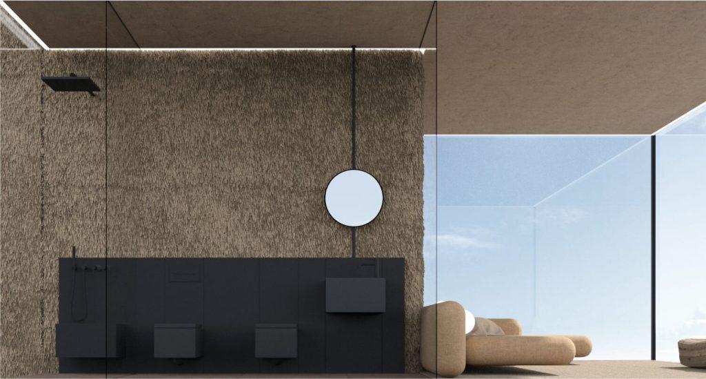 Yakusha-Design-koncepcja niewielkiego domu na klifie 10
