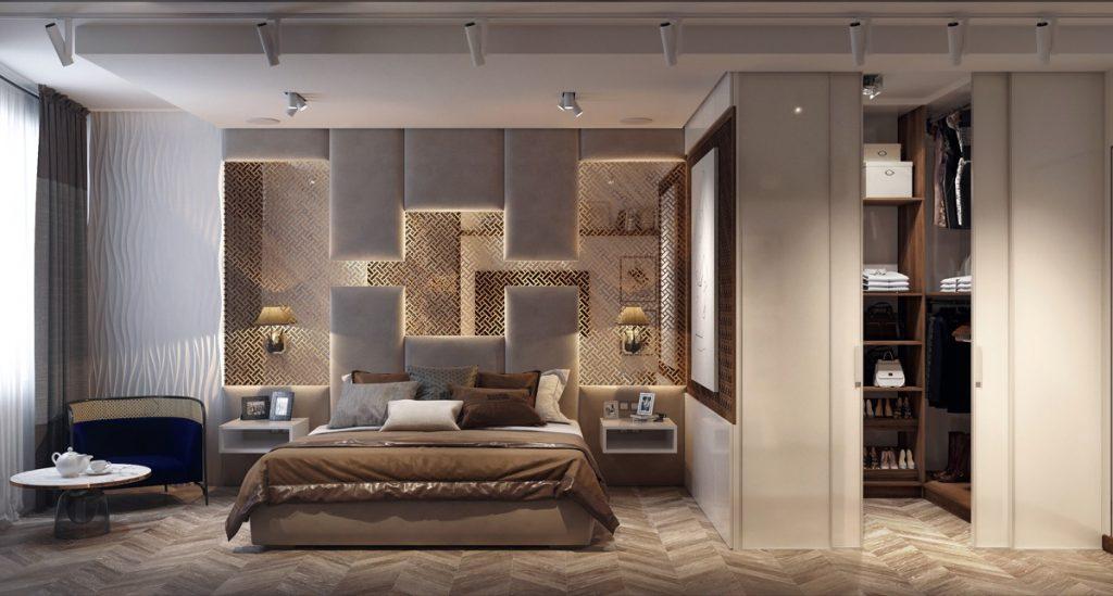 luksusowa sypialnia Evgeny Zjuba